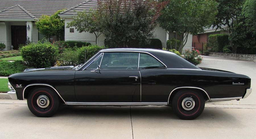 1966 Chevelle Ss Black 396 360hp 4 Speed